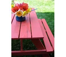 Picnic table paint.aspx Video