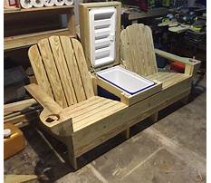 Picnic table with cooler plans.aspx Video
