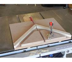 Picture frame jig for miter saw Video