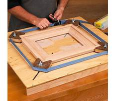 Picture frame jig table Video