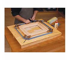 Picture frame jigs Video