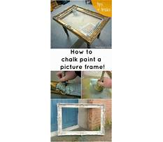 Picture frame painting patterns Video