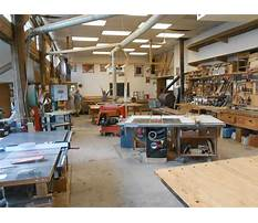 Pictures of home woodworking shops Video