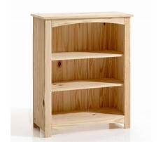 Pine bookshelf plans Video