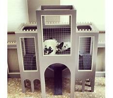 Pink castle rabbit hutch Video