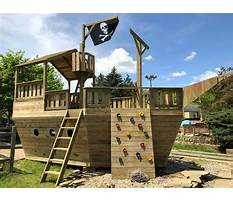 Pirate ship backyard playground sets Video