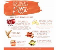Pitta diet recipes Video