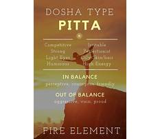 Pitta imbalance diet Video