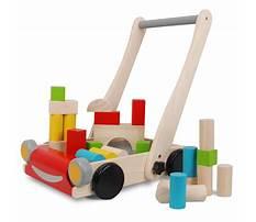 Plan toys wooden baby walker Video