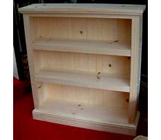 Plans for a small bookcase Video
