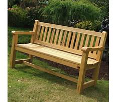 Plans for an outdoor wooden bench Video