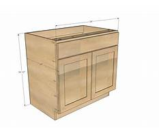 Plans for base kitchen cabinets Video