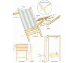 Plans for beach chair Video
