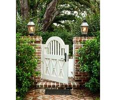 Plans for building a garden gate Video