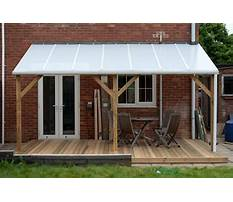 Plans for building a lean to roof Video