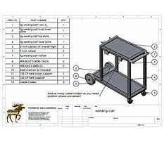 Plans for building a welding cart Video