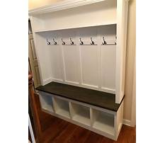 Plans for hall tree storage bench Video