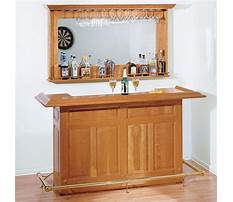 Plans for home bar Video