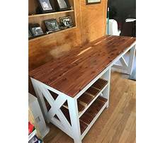 Plans for home office desk Video