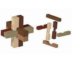 Plans for homemade wooden puzzles Video