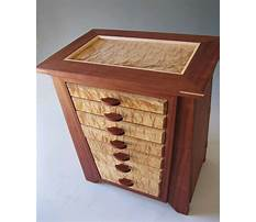 Plans for large jewelry box Video