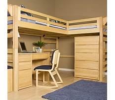 Plans for loft bunk bed Video