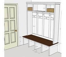 Plans for mudroom bench locker Video
