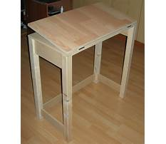 Plans for small drafting table Video