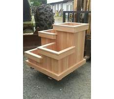 Plans for wooden flower boxes Video