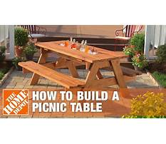 Plans on how to build a table Video