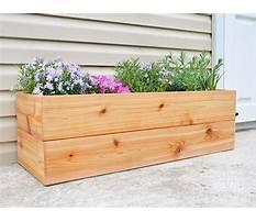 Plans to build a cedar planter Video