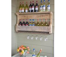 Plans to build a wine glass rack Video