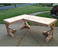 Plans to build corner desk Video