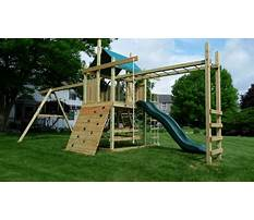 Plans to build swing set Video