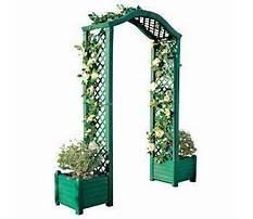 Plastic garden archway Video