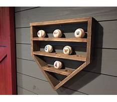 Plate display shelf woodworking plans Video