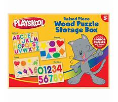 Playskool toy box with shelf Video
