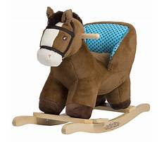 Plush rocking horse for baby Video