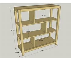 Pocket hole bookshelf plans Video
