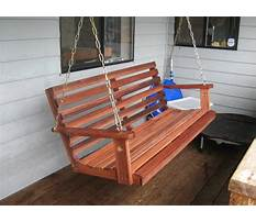 Porch swing plans and patterns Video