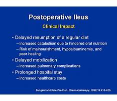 Postoperative ileus diet Video