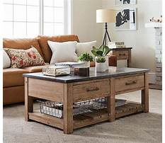 Pottery barn industrial cart coffee table Video