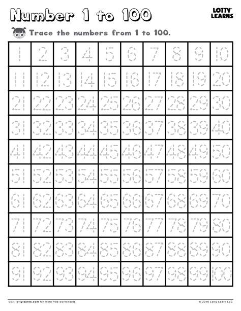 HD wallpapers 1 100 worksheets kindergarten Page 2