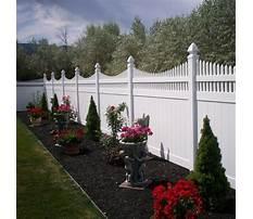 Privacy fence designs vinyl Video