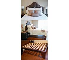 Projects bed frame Video