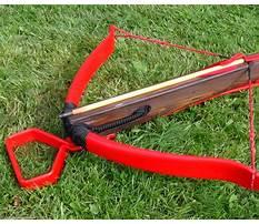 Pvc crossbow plans Video