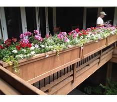 Railing flower boxes uk Video
