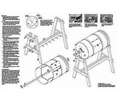 Rain barrel composter plans Video