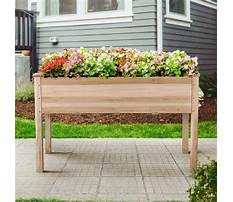 Raised vegetable beds on legs Video