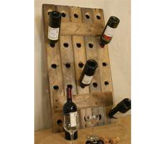 Recycled wine rack ideas Video